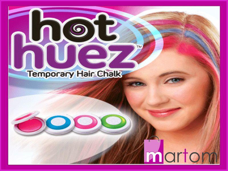Kolorowe pasemka Huez ozdoba włosów farbonie