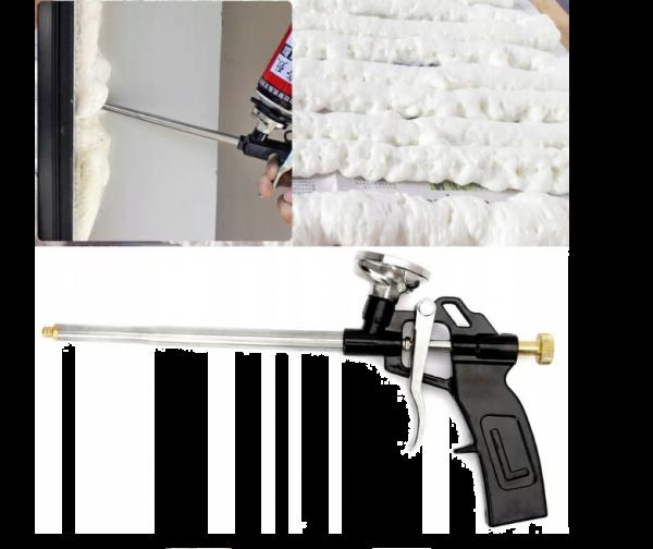 XA083 PISTOLET DO PIANKI PIAN PIANY MONTAŻOWEJ METALOWY